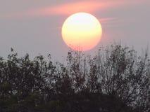 Заход солнца на своем самое лучшее стоковые фото