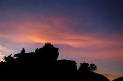 Заход солнца на Naiguata 2 Стоковая Фотография