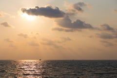 Заход солнца на Phu Quoc стоковое фото rf