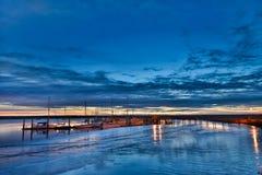 Заход солнца на St Marys Стоковые Фото