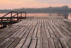 Заход солнца осени Стоковое Изображение