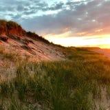 Заход солнца Острова Принца Эдуарда Стоковые Фотографии RF