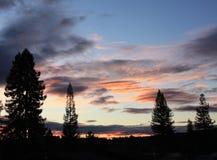 Заход солнца 6 долины Rincon Стоковая Фотография RF
