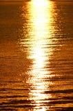 Заход солнца Рэй Стоковые Фото