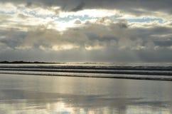 Заход солнца Скотта накидки Стоковое Изображение