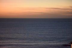 Заход солнца Тенерифе Стоковые Изображения RF