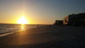 Заход солнца Флориды Стоковое фото RF