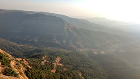Заход солнца 65 холма верхний Стоковое Изображение