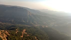 Заход солнца 76 холма верхний Стоковая Фотография RF