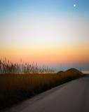 Заход солнца любит картина Стоковые Изображения RF