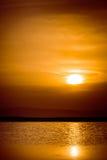 Заход солнца 2 Стоковое Изображение
