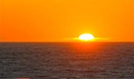 Заход солнца 2 Стоковое фото RF