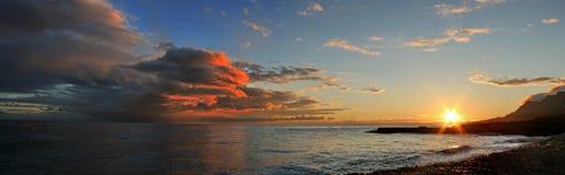 Заход солнца 2010106 Стоковые Изображения RF