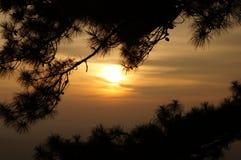 Заход солнца - 1 Стоковые Фотографии RF