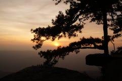 Заход солнца - 2 Стоковые Фото