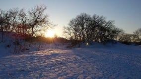 Заход солнца 02 Стоковое фото RF
