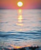 Заход солнца 3 Стоковое Фото