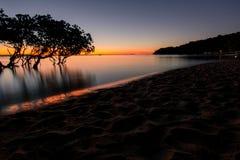 заход солнца 1770 Стоковое фото RF
