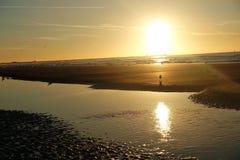Заход солнца Стоковая Фотография