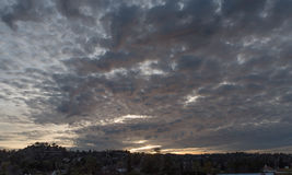заход солнца angeles los Стоковое Фото