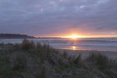 Заход солнца Arago накидки Стоковые Фотографии RF