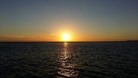Заход солнца Beautyful Стоковая Фотография