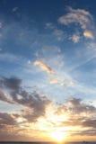 заход солнца boracay стоковые фотографии rf