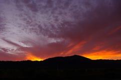 Заход солнца Cabo San Lucas Стоковые Фотографии RF