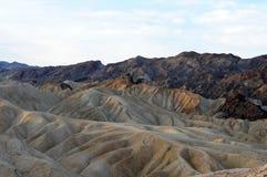 Заход солнца Death Valley Стоковые Фотографии RF