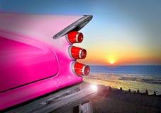 Заход солнца Desoto Стоковые Изображения RF