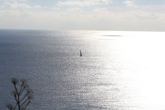 Заход солнца, Gozo стоковая фотография
