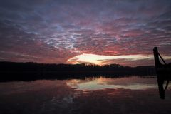 Заход солнца II стоковая фотография rf