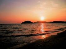 Заход солнца Langkawi Малайзия ashurbanipal Стоковая Фотография RF