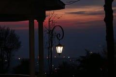 Заход солнца Romantics Стоковое фото RF