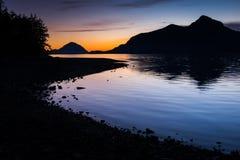 Заход солнца s Стоковое Изображение RF