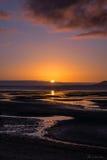 Заход солнца San Carlos Стоковое Изображение RF
