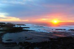 Заход солнца San Luis Obispo Стоковые Изображения