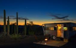 Заход солнца Sonoran Стоковое Изображение RF