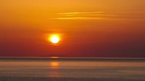 Заход солнца - timelapse. 4K. ПОЛНОЕ HD, 4096x2304. видеоматериал