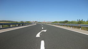 Захолустные дороги Стоковые Фотографии RF