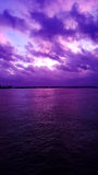 Заходы солнца в глубоком юге Стоковое Изображение