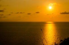 Заходы солнца Стоковое Изображение
