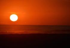 Заходящее солнце Стоковое фото RF