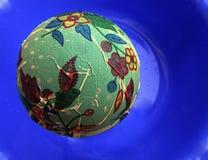 Зацветая зеленая планета Стоковое фото RF