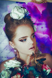 Зацветая невеста Стоковая Фотография RF