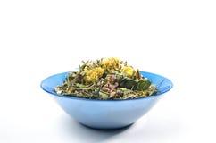 Зацветая цветки высушенные sally Традиционный русский чай Стоковая Фотография RF