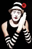 зацветите белизна сна mime шлема красная Стоковое Фото