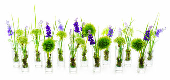 Букеты цветка от искусственних цветков Стоковая Фотография RF