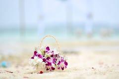 Зацветите корзина Стоковые Фото
