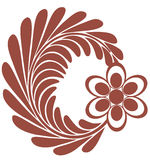 зацветите логос Стоковые Фотографии RF